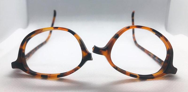 Дешевый пластик в солнцезащитных очках фото