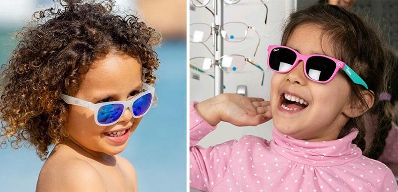 Как выбирать детские очки от солнца