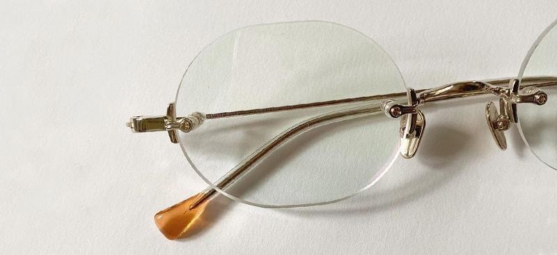 Как выглядят безоправные очки фото