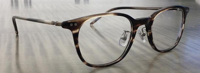 Как выглядят очки с оправой фото
