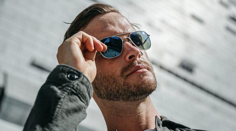 можно ли носить синие очки фото