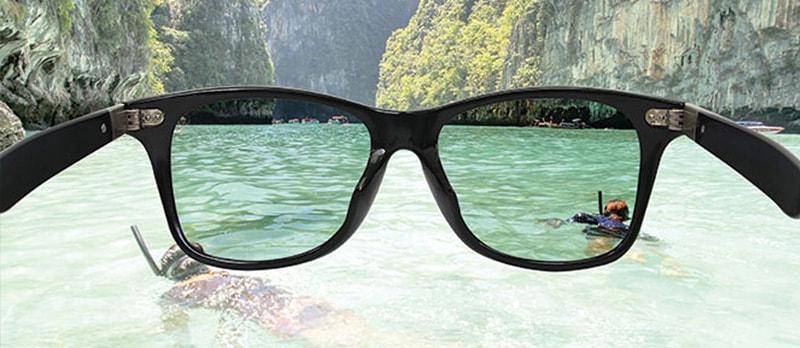 очки с поляризацией нужны у воды фото