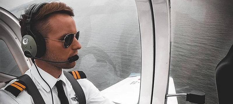 Первые очки авиаторы для летчиков