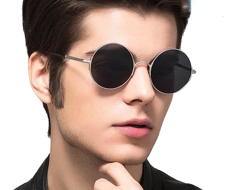 Круглые очки идут мужчинас с квадратным лицом