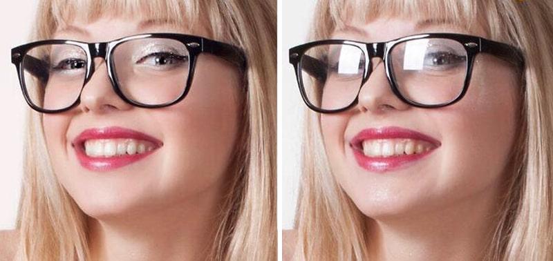 Антибликовое покрытие в очках фото