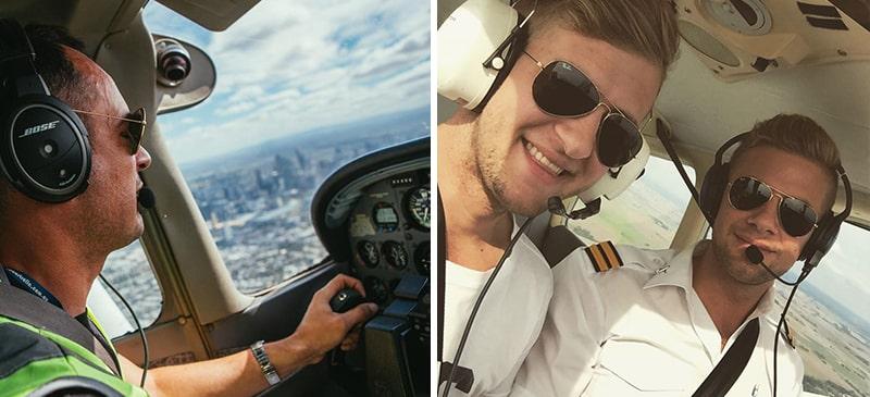 Первые очки авиаторы для летчиков фото