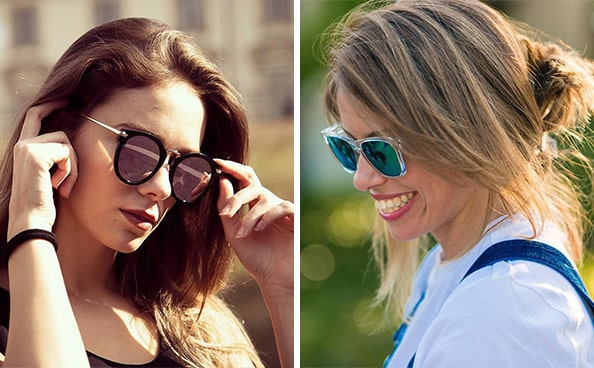 Как подобрать очки под цвет волос