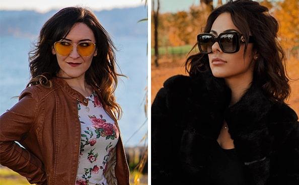 Цветотип осень - подбираем солнцезащитные очки