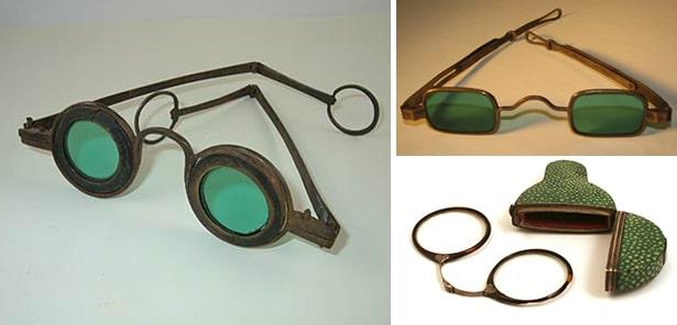 Когда появились первые очки с изумрудными линзами