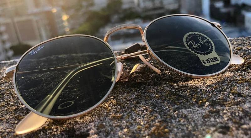 Солнцезащитные очки с титаной оправой фото