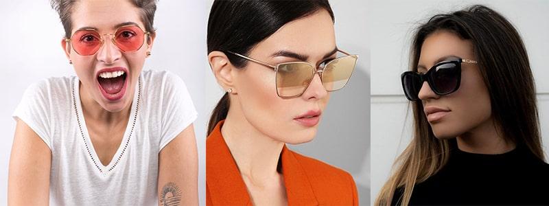 Как должны сидеть очки относительно бровей фото