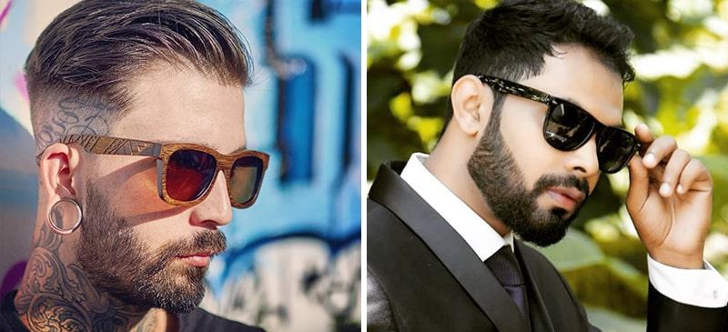 Мужской образ в очках Wayfarer фото