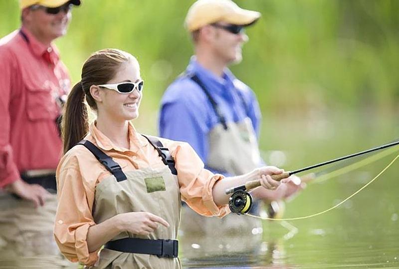 Материал линз для рыбацких очков