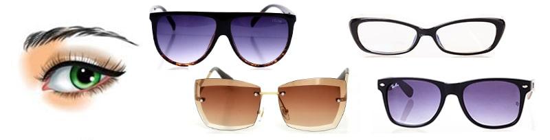 Выбрать солнцезащитные очки под прямые брови фото