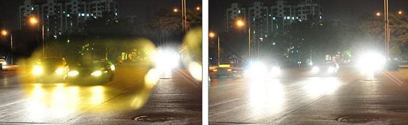 Зачем нужны желтые очки для вождения